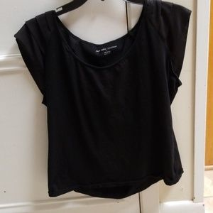 Black New York and company Large Cap sleeve top